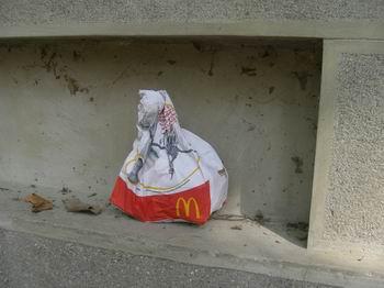 Rifiuti del Mc Donald's